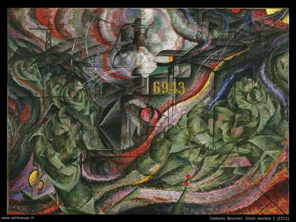 Umberto Boccioni Stato mentale 1 (1911)