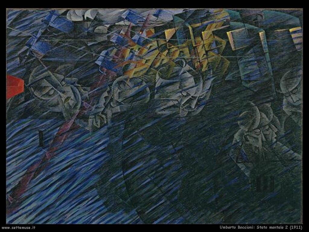 Umberto Boccioni Stato mentale 2 (1911)