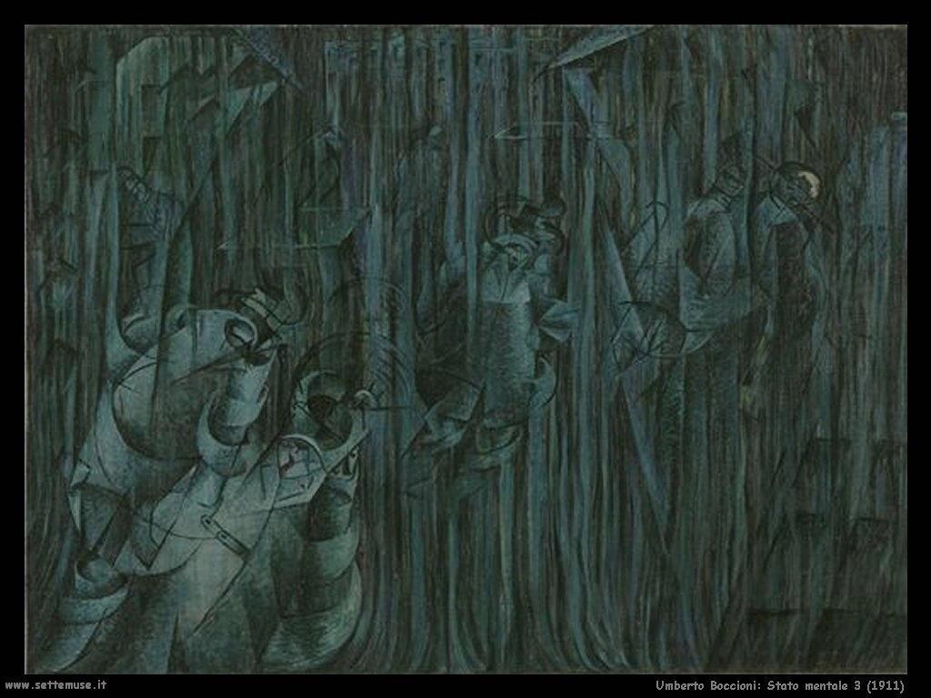 Umberto Boccioni Stato mentale 3 (1911)