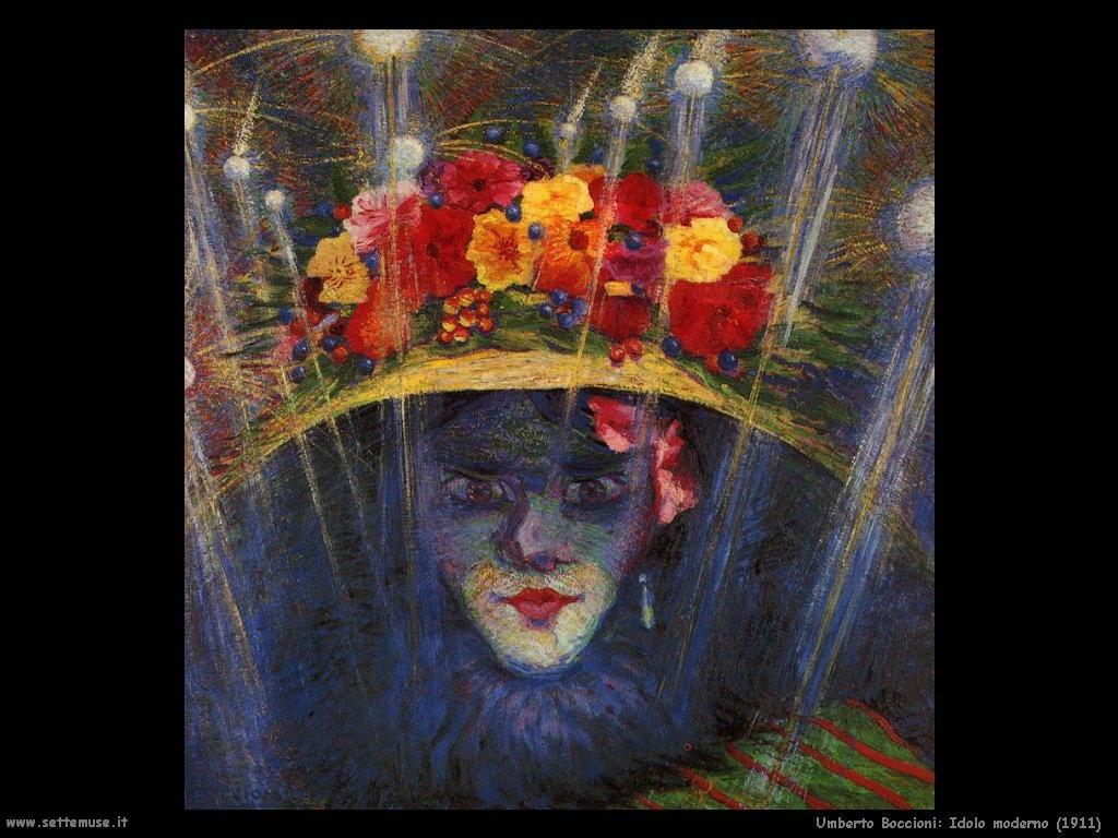 Umberto Boccioni Idolo moderno (1911)