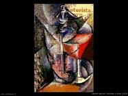 umberto boccioni Bicchiere e sifone (1913)
