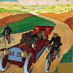 Dipinto di Umberto Boccioni