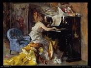 Giovanni Boldini Donna al piano