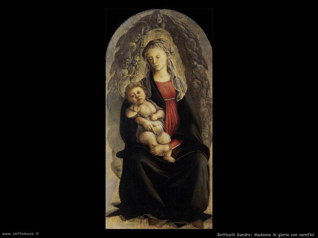 sandro botticelli madonna in gloria