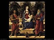 sandro botticelli vergine in trono