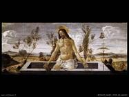 botticelli cristo nel sepolcro