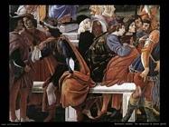 botticelli cristo e le 3 tentazioni