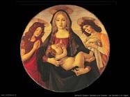 sandro botticelli madonna bambino giovanni e angelo