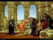 Sandro Botticelli La calunnia (1495)