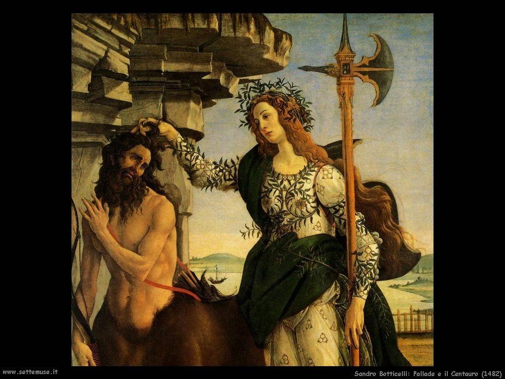 Pallade e il Centauro (1482)