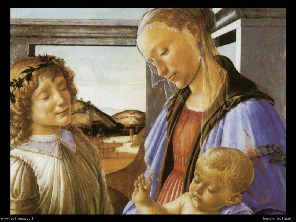 Madonna col Bambino e un angelo