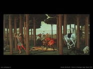 Sandro Botticelli Storia di Nastagio degli Onesti (2)