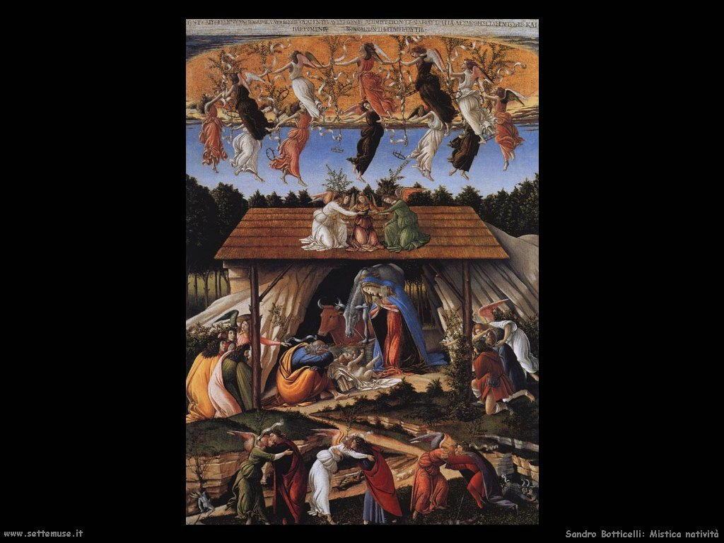 Sandro Botticelli Mistica natività