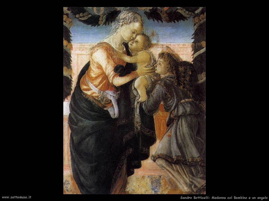 Madonna col Bambino e angelo