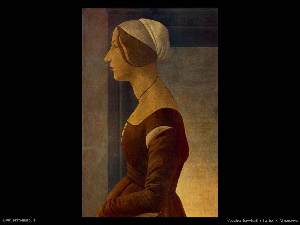 Sandro Botticelli La bella Simonetta