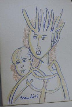 Disegno di Remo Brindisi