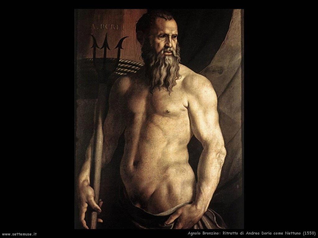 Ritratto di Andrea Doria come Nettuno (1550)