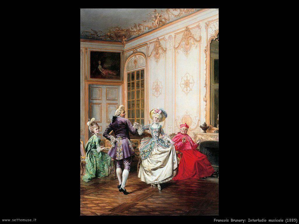 francois brunery Interludio musicale (1885)