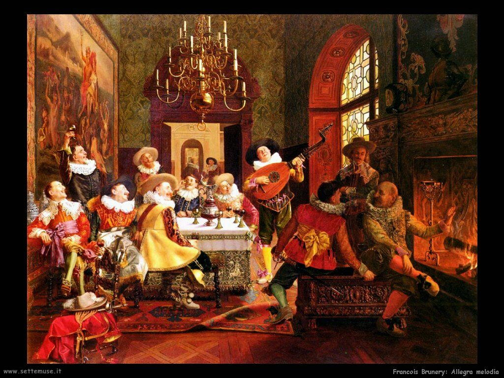 francois brunery Allegra melodia