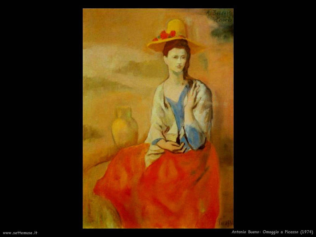 Omaggio a Picasso (1974)