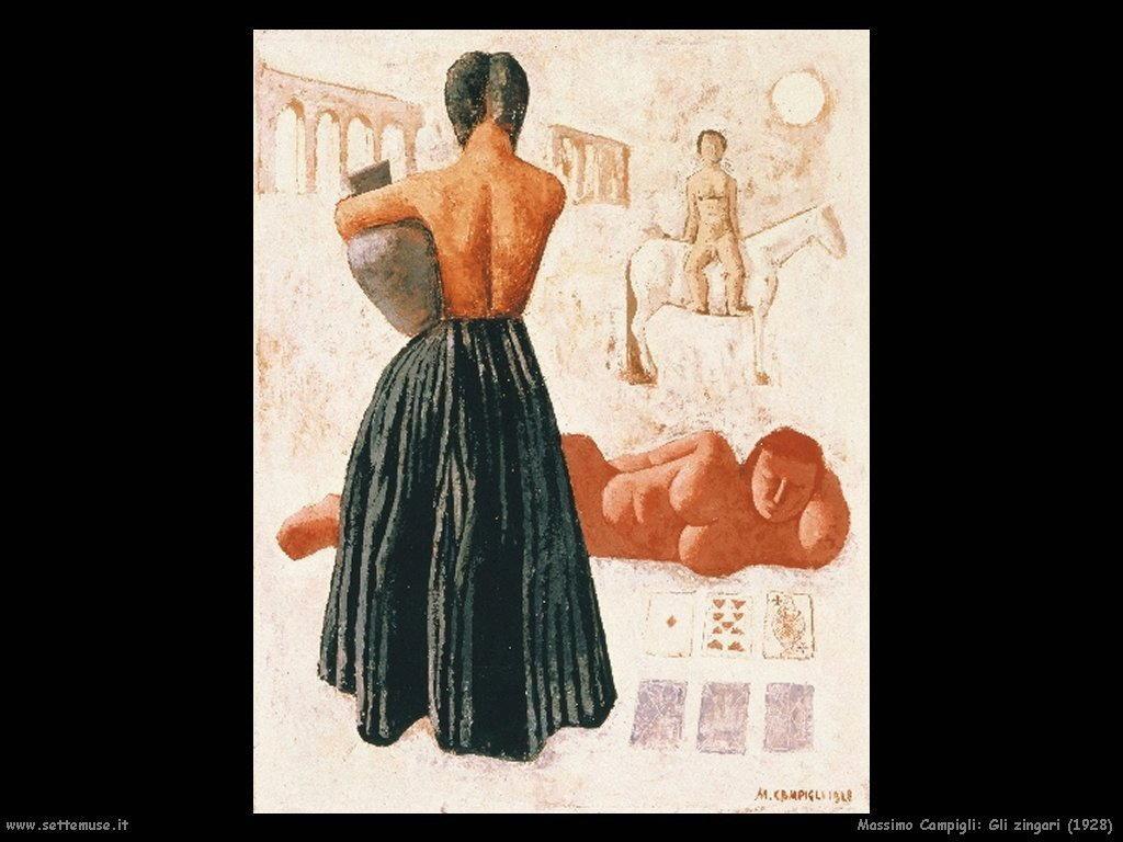 massimo campigli Gli zingari (1928)