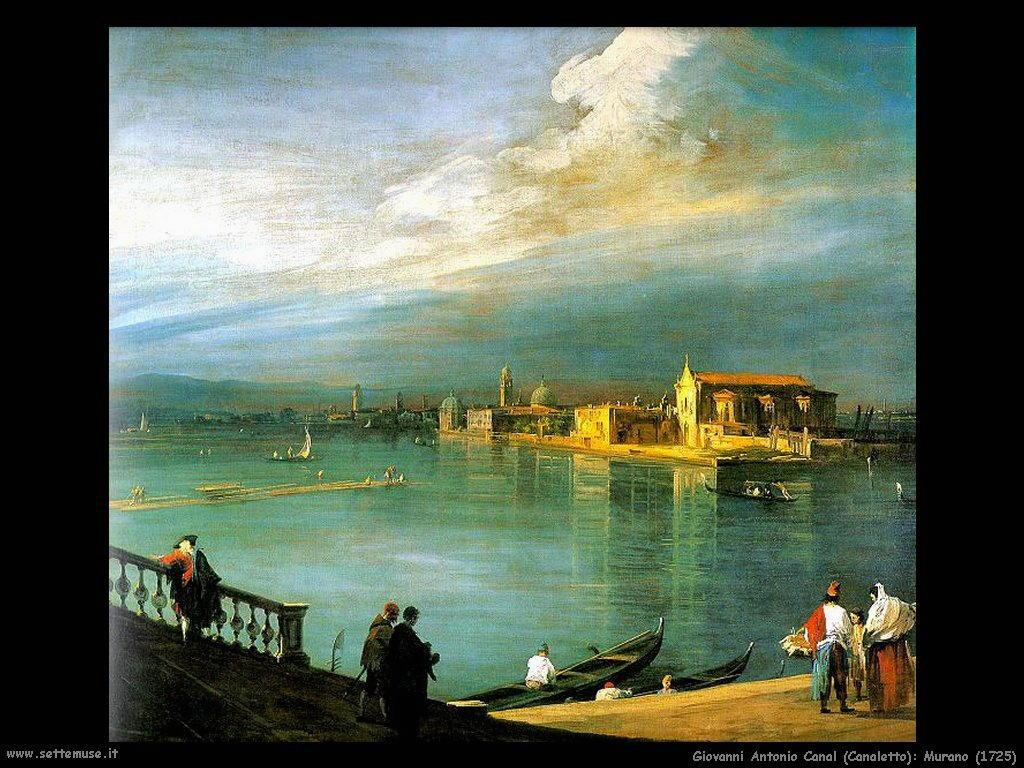 G.Antonio Canal detto Canaletto Murano (1725)