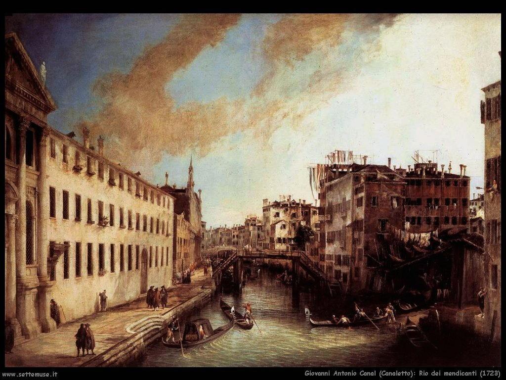 Rio dei Mendicanti (1723)