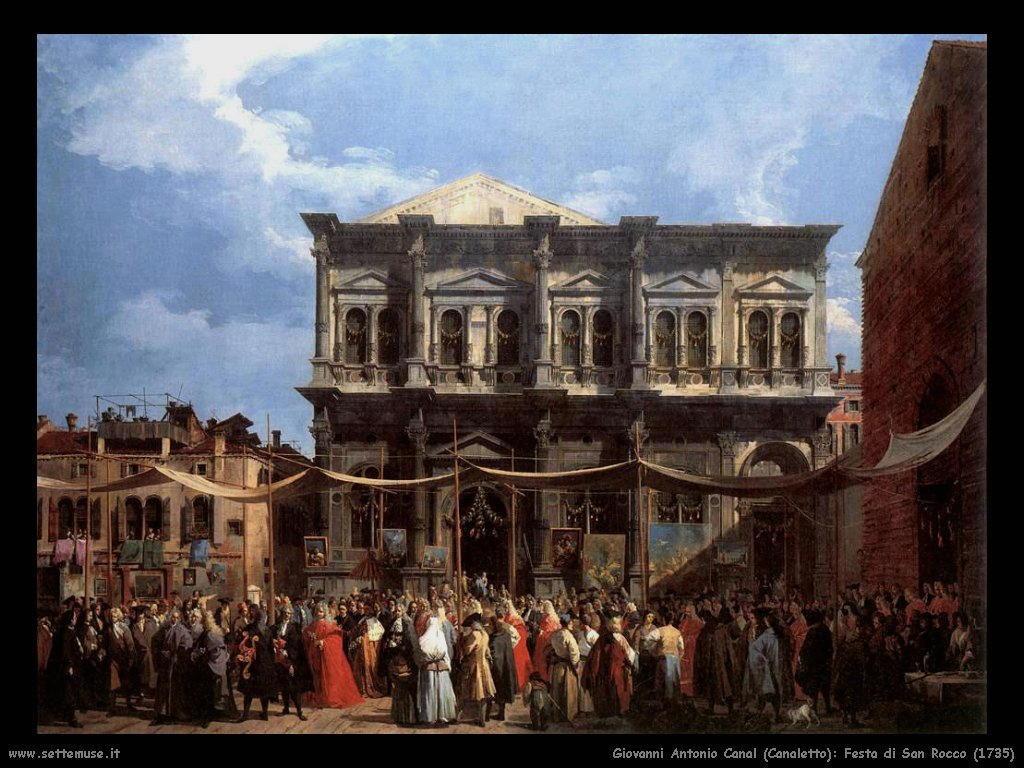 Festa di San Rocco (1735)