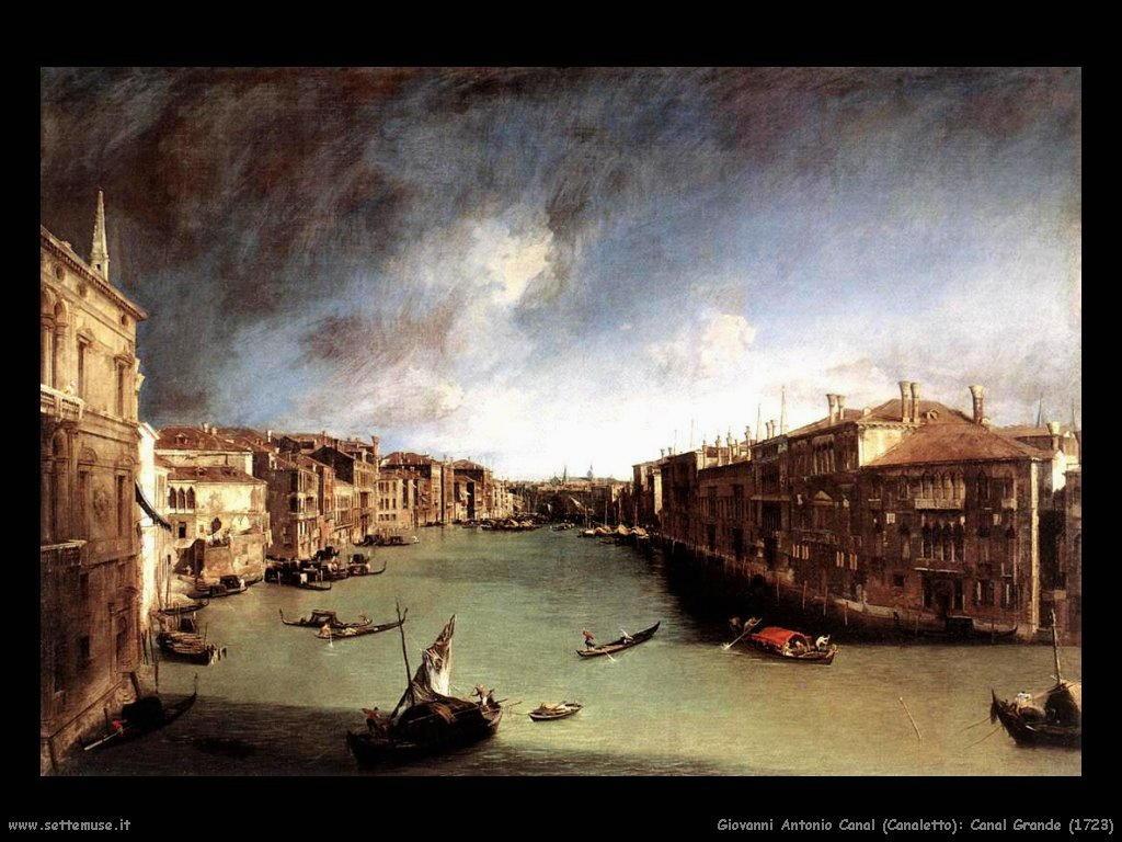 Canal Grande di Venezia (1723)