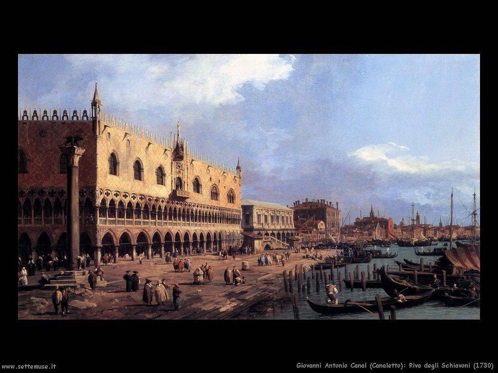 Riva degli Schiavoni (1730)