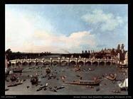 Londra, ponte Westminster (1746)