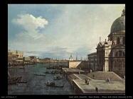 Canal Grande presso chiesa della Salute (1742)