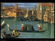Canal Grande presso chiesa della Salute -dettaglio (1742)