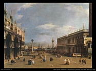 La piazzetta (1735) Venezia pzza San Marco