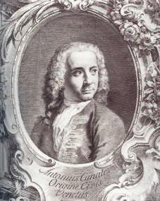 Ritratto di G.Antonio Canal detto Canaletto