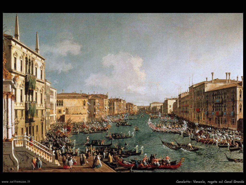 canaletto regata_sul_canal_grande