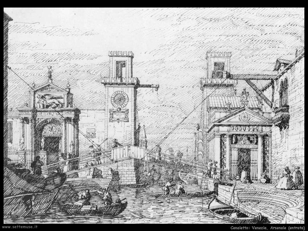 canaletto venezia_arsenale_entrata