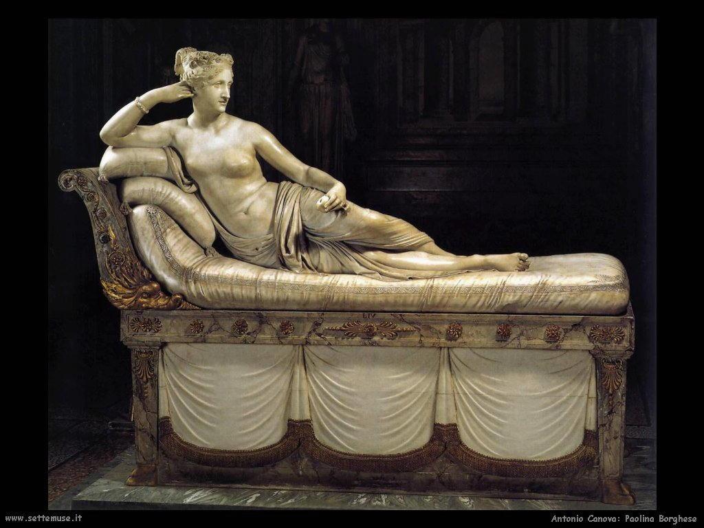Paolina Borghese Bonaparte - Canova