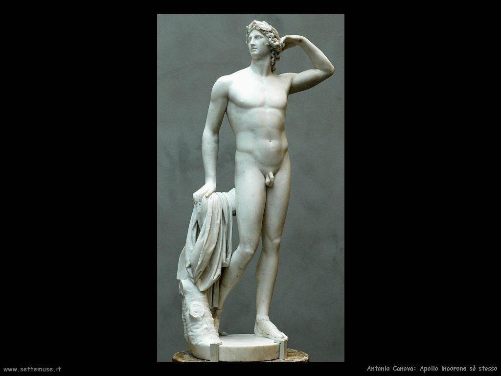 Canova Apollo incorona sè stesso