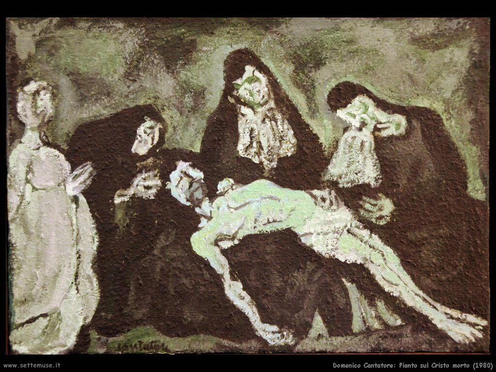domenico cantatore Pianto sul Cristo morto (1980)