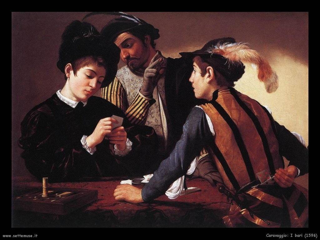 Caravaggio I bari (1596)