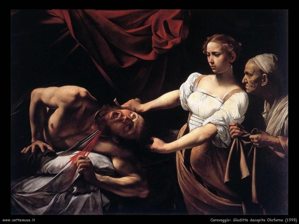 caravaggio giuditta_decapita_oloferne