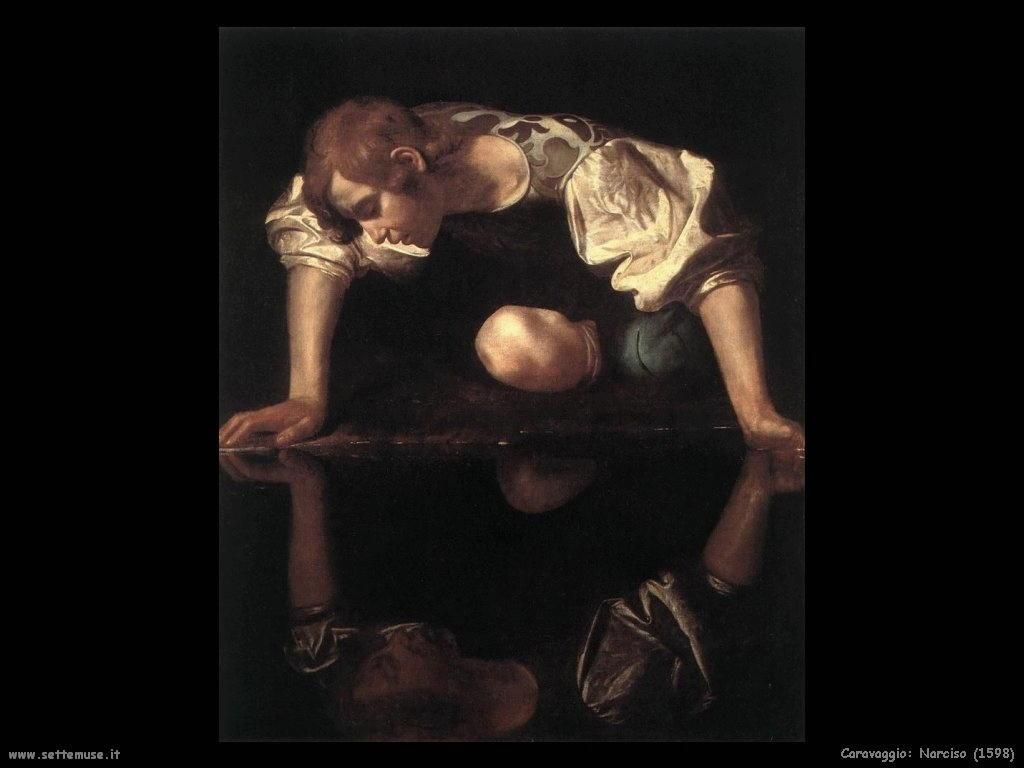 caravaggio Storia di Narciso 1598