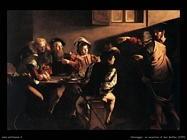 Caravaggio La vocazione di San Matteo (1599)