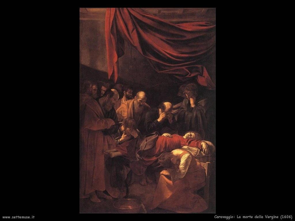 La morte della Vergine (1606)