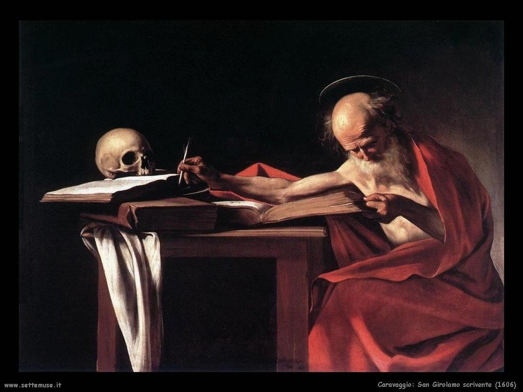 San Girolamo scrivente (1606)