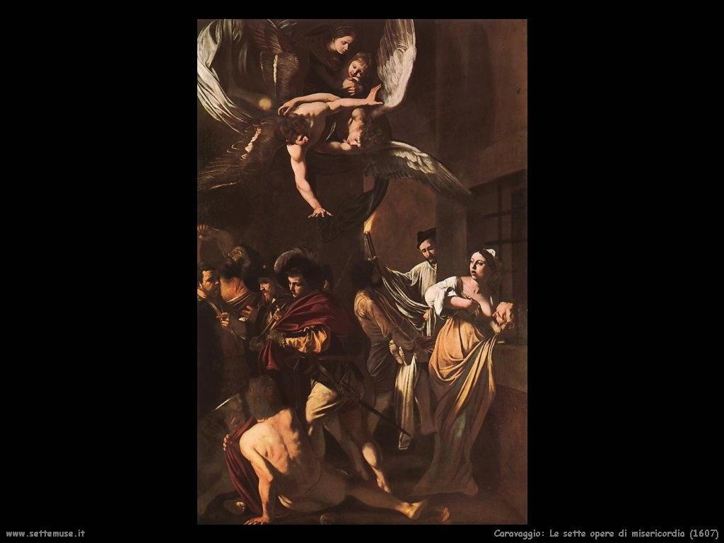 Le sette opere di misericordia (1607)