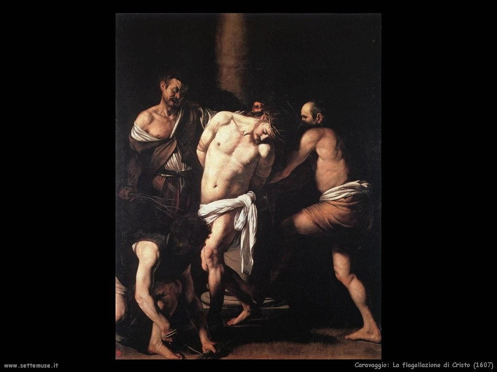 La flagellazione di Cristo (1607)