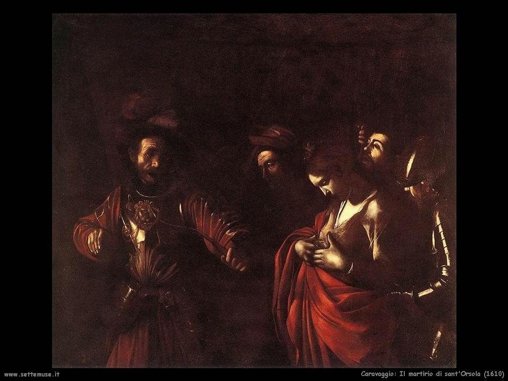 Il martirio di sant'Orsola (1610)