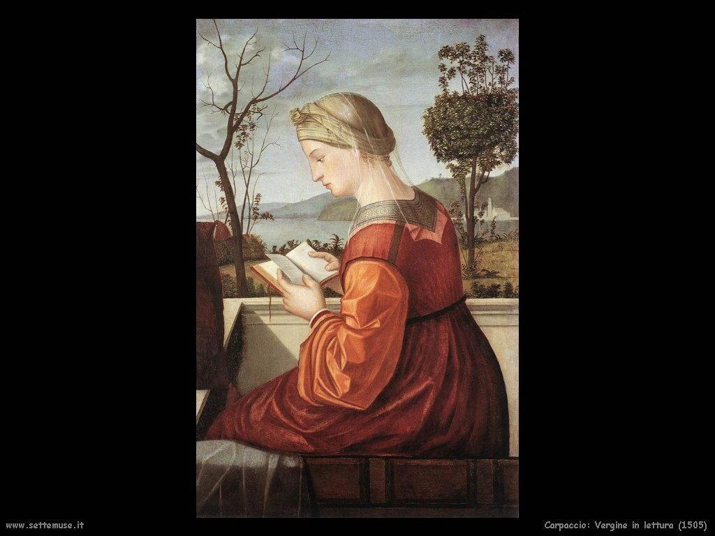 Vergine in lettura (1505)